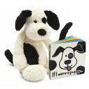 ジェリーキャット ぬいぐるみ いぬ 犬 絵本付き 動物 おもちゃ 玩具 英語教材 雑貨 王室御用達 セレブ御用達 出産祝い 誕生日プレゼント