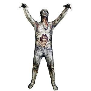 ゾンビ ウォーキング・デッド モーフスーツ 全身タイツ 子供用 モンスターコレクション 恐怖 ホラー 肝試し お化け モンスター ゴースト ハロウィン コスプレ コスチューム 衣装