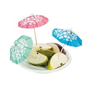 カクテルピックパラソルピックトロピカルドリンク飾り楊枝傘432本飲み物デザート小さな傘