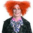 アリスインワンダーランド コスプレ マッドハッター かつら 帽子屋 ウィッグ ハロウィン イベント パーティー