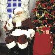 サンタ コスプレ サンタクロース コスチューム クリスマス コスプレ ホワイトフォックス風ファーつきサンタの本格派コスチューム