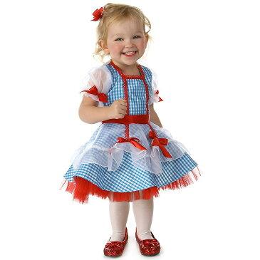 オズの魔法使い ドロシー 衣装 コスプレ コスチューム 赤ちゃん 幼児 子供用 ギンガムチェック ワンピース