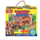 パズル 農場の動物たちのジャンボフロアパズル 知育玩具 T.S.Shure社製 おもちゃ プレイセット