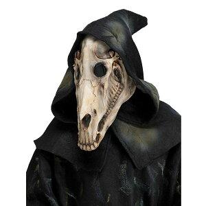馬骸骨マスクコスプレ仮装ハロウィンホーススカル仮装