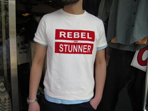 SMART SPICE(スマートスパイス)REBEL FRENCH TERRY T-SHIRTS【丈夫...