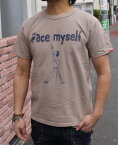 SMART SPICE(スマートスパイス)FACE MYSELF TEE【首の伸びない丈夫な日本製7ozTシャツ】【米綿を和歌山の織り機で肉厚7ozに紡績】丈夫 日本製 丸胴ボディ 頑丈メンズTシャツ レディースTシャツ ユニセックス 大きなサイズあり2019年春夏新作! 再入荷!