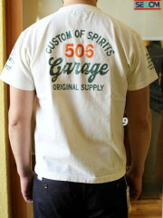 ACOUSTICアコースティックGARAGETEE頑丈なTシャツ【絶対に首の伸びない丈夫なTシャツ】頑丈丈夫なTシャツ肉厚メンズTシャツレディースTシャツユニセックス大きいサイズあり3色展開送料無料2020年最新作!