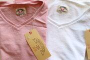 SMARTSPICE(スマートスパイス)SOLIDV-NECKTEE頑丈な無地VネックTシャツ日本製【米綿を和歌山の織り機で肉厚7ozに紡績】丈夫日本製丸胴ボディ頑丈メンズVネックTシャツレディースV-ネックTシャツユニセックス2色展開送料無料
