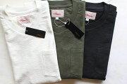 ACOUSTICアコースティックSOLIDBLOCKINLAYPOCKETV-TEE頑丈なブロックインレー素材VネックTシャツ【最強に頑丈で肌触りの良いVネックTシャツ】丈夫メンズTシャツレディースTシャツユニセックス大きいサイズあり送料無料3色展開2020年最新作!