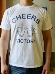 SMARTSPICE(スマートスパイス)CHEERSTEE【首の伸びない丈夫な日本製7ozTシャツ】【頑丈な米綿を和歌山の織り機で肉厚7ozに紡績】丈夫日本製丸胴ボディ頑丈メンズTシャツレディースTシャツユニセックス2020新作2色展開送料無料