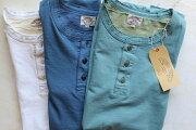 SMARTSPICE(スマートスパイス)SOLIDHENLEY-NECKTEE頑丈な無地ヘンリーネックTシャツ日本製【米綿を和歌山の織り機で肉厚7ozに紡績】丈夫日本製丸胴ボディ頑丈メンズヘンリーネックTシャツユニセックスTシャツ2020年新作3色展開送料無料