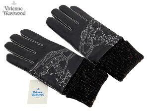 大きなオーブの刺繍がポイント!ヴィヴィアンウエストウッド Vivienne Westwood MAN 鹿革手袋...