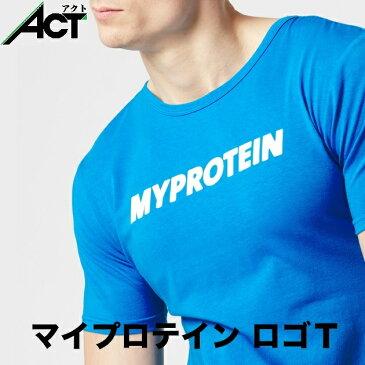 マイプロテイン オリジナル ロゴ Tシャツ ブルー