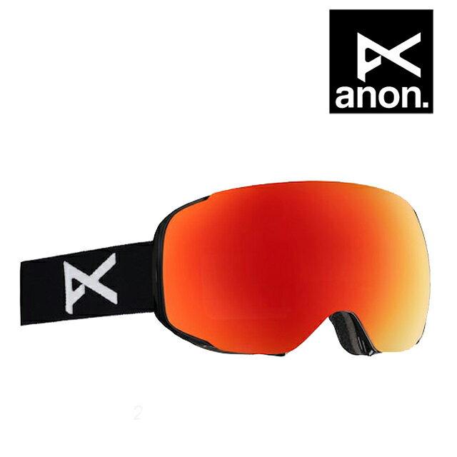 スキー・スノーボード用アクセサリー, ゴーグル BURTON ANON GOGGLE M2 BLACKRED SOLEXBLUE LAGOON
