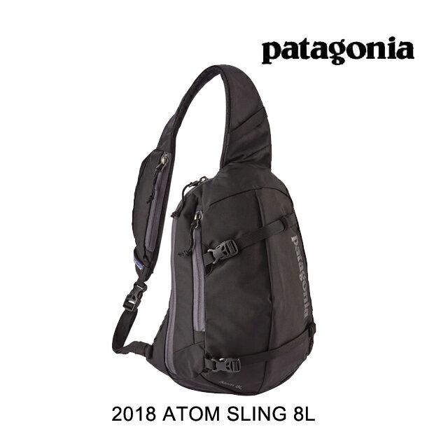 2018 PATAGONIA パタゴニア ボディバッグ ATOM SLING 8L BLK BLACK