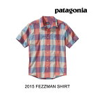 2015PATAGONIA�ѥ����˥������FEZZMANSHIRTRPTRRIPPLEWOOD:TURKISHRED