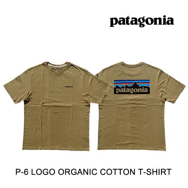 トップス, Tシャツ・カットソー PATAGONIA P-6 T P-6 LOGO ORGANIC T-SHIRT CSC CLASSIC TAN 38535