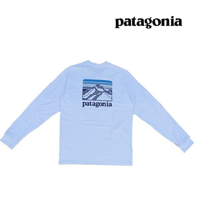 トップス, Tシャツ・カットソー  PATAGONIA T LONG SLEEVED LINE LOGO RIDGE RESPONSIBILI-TEE WHI WHITE 38517 LS TEE