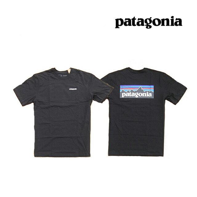 トップス, Tシャツ・カットソー PATAGONIA P-6 T P-6 LOGO ORGANIC T-SHIRT BLK BLACK 38535