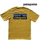 PATAGONIAパタゴニアP-6ロゴオーガニックメンズTシャツP-6LOGOORGANICT-SHIRTMTNYMOUNTAINYELLOW38535