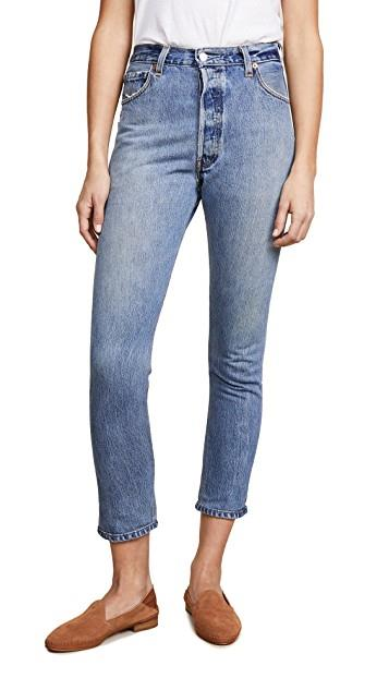 x Levi's High Rise Ankle Crop Jeans レディース