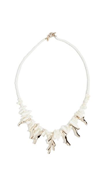 Island Cluster Necklace レディース