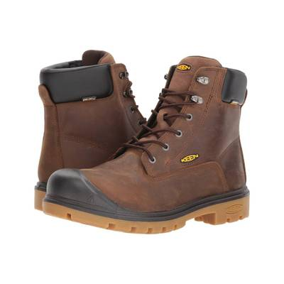 super popular 9afdc 864bd キーン ブーツ Baltimore オンライン 6 WP Steel Toe Brown:active-store Keen キーン ブーツ