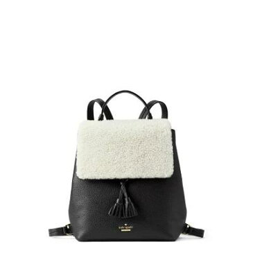 ケイト スペード KATE SPADE NEW YORK バックパック・リュック hayes street - teba genuine shearling & leather backpack Cement