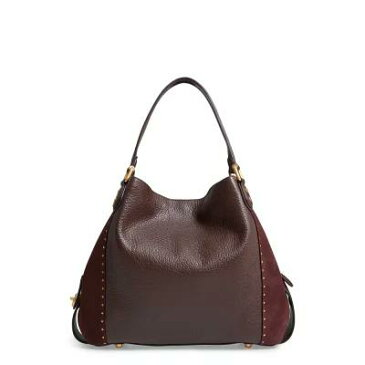 コーチ COACH ショルダーバッグ Edie 42 Border Rivets Leather Shoulder Bag Oxblood