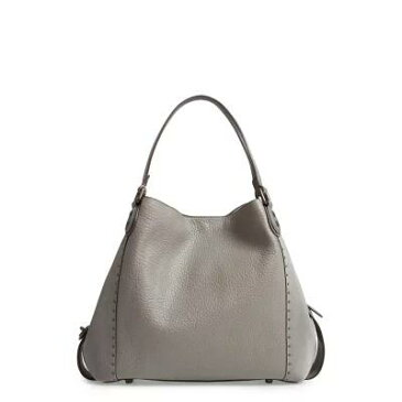 コーチ COACH ショルダーバッグ Edie 42 Border Rivets Leather Shoulder Bag Heather Grey