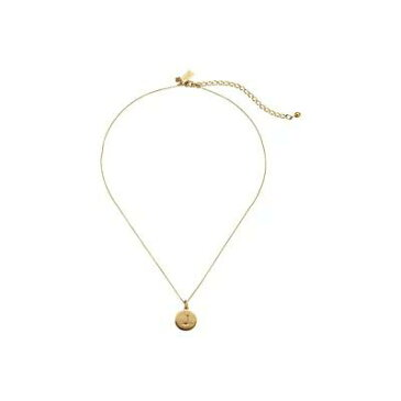 ケイト スペード Kate Spade New York ネックレス Kate Spade Pendants J Pendant Necklace Gold