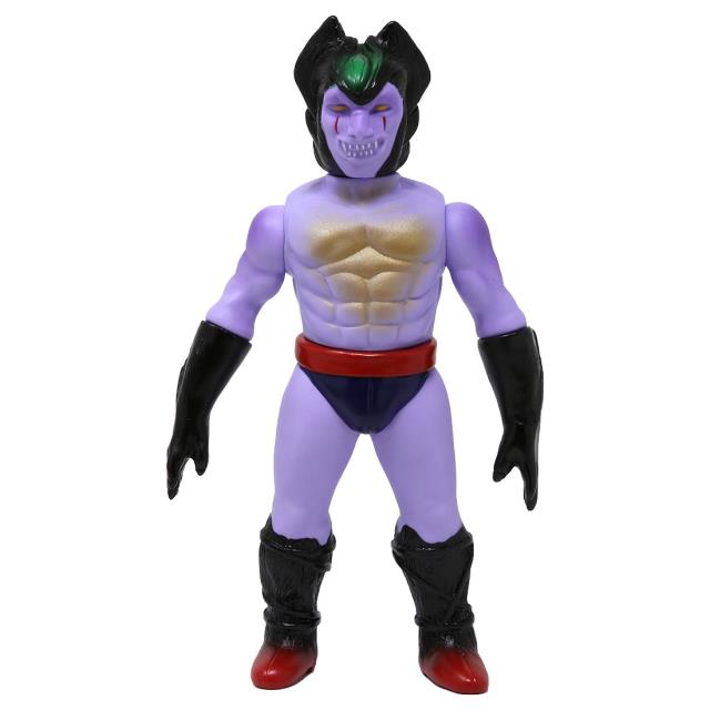 男女兼用アクセサリー, その他  Medicom Devilman Frenzy Purple Sofubi Figure (purple)