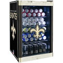 New Orleans Saints 4.6 Cubic Foot Refrigerated Beverage Center ユニセックス