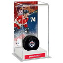 Fanatics Authentic Owen Tippett Florida Panthers Autographed Puck with Deluxe Tall Hockey Puck Case ユニセックス