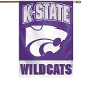 WinCraft Kansas State Wildcats 28 x 40 Full Name Single-Sided Vertical Banner ユニセックス
