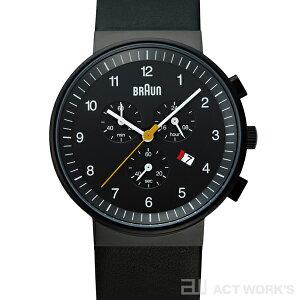 【ポイント10倍・送料無料】全2色・ドイツプロダクトデザイン腕時計BRAUN BNH0035 腕時計(黒)...