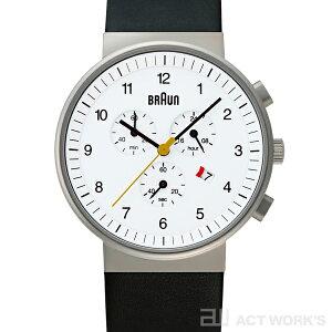 BRAUNBNH0035腕時計(白)ブラウン