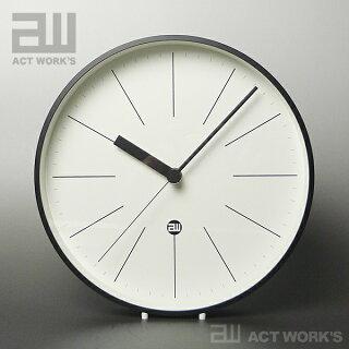 《全2色》電波アルミ時計(バー)actwork's×Lemnos