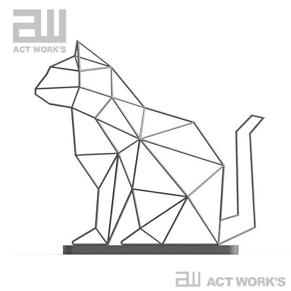 ACT WORK'S シャドーワイヤー キャット(傘立て)
