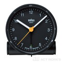 BRAUN BNC001 目覚まし時計 置き時計 ブラウン 【丸型 時計 アラーム 壁掛け とけい ブランド メンズ レディース アナログ 表示 置時計】