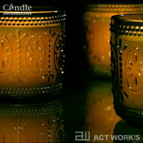 キャンドルインプレッションズ『フレームレスキャンドル飾りガラス容器タイプ』