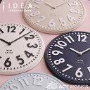 《全4色》BRUNO エンボスウォールクロック ブルーノ 【IDEA イデアレーベル 壁時計 壁掛け時計 デザイン雑貨 寝室 リビング インテリア 北欧】
