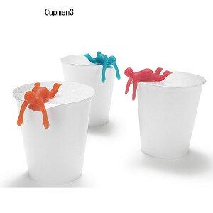 【RCP】+d(プラスディー/アッシュコンセプト) Cupmen カップメン蓋抑え 【カップラーメン ラーメン ギフト フタ】