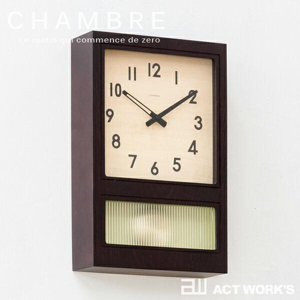 置き時計・掛け時計, 掛け時計 2CHAMBRE FROSTED PENDULUM CLOCK interzero