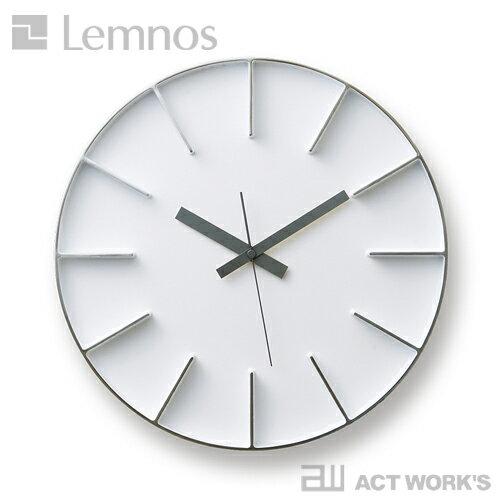 《全3色》LEMNOS edge clock エッジクロック -Lサイズ- 【タカタレムノス デザイン雑貨 壁掛け時...