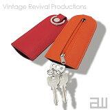 """《全6色》Sliding Keys """"cloche"""" スライド式キーケース スライディングキーズ クロシェ 【デザイン雑貨 皮革 本革 レザー Vintage Revival Productions】"""