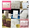 ACUBEで買える「ウエディング 招待状 結婚式 手作りセット インポート結婚式招待状 手作りキット 無料サンプル ブライダル ウェディング bridal Invitation」の画像です。価格は1円になります。