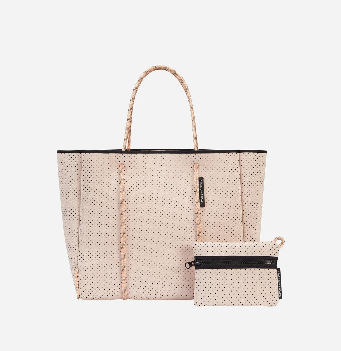 a9d8c3970139 ステイト オブ エスケープ FLYING SOLO BAG 新色 Blush State of Escape ビーチ トートバッグ ステイトオブエスケープ  ロンハーマン 取扱 ネオプレン マザーズバッグ/ ...