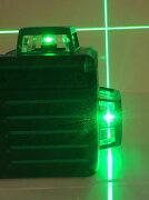 ダイレクトグリーンレーザー キューブ シームレス レーザー オートラインレーザー