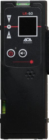 赤色レーザー墨出し器汎用受光器(固定用クランプ付き)[測量用品 赤色レーザー汎用 受光器 バイス付き クランプ付き 波長635nm対応 送料無料]楽天大感謝祭